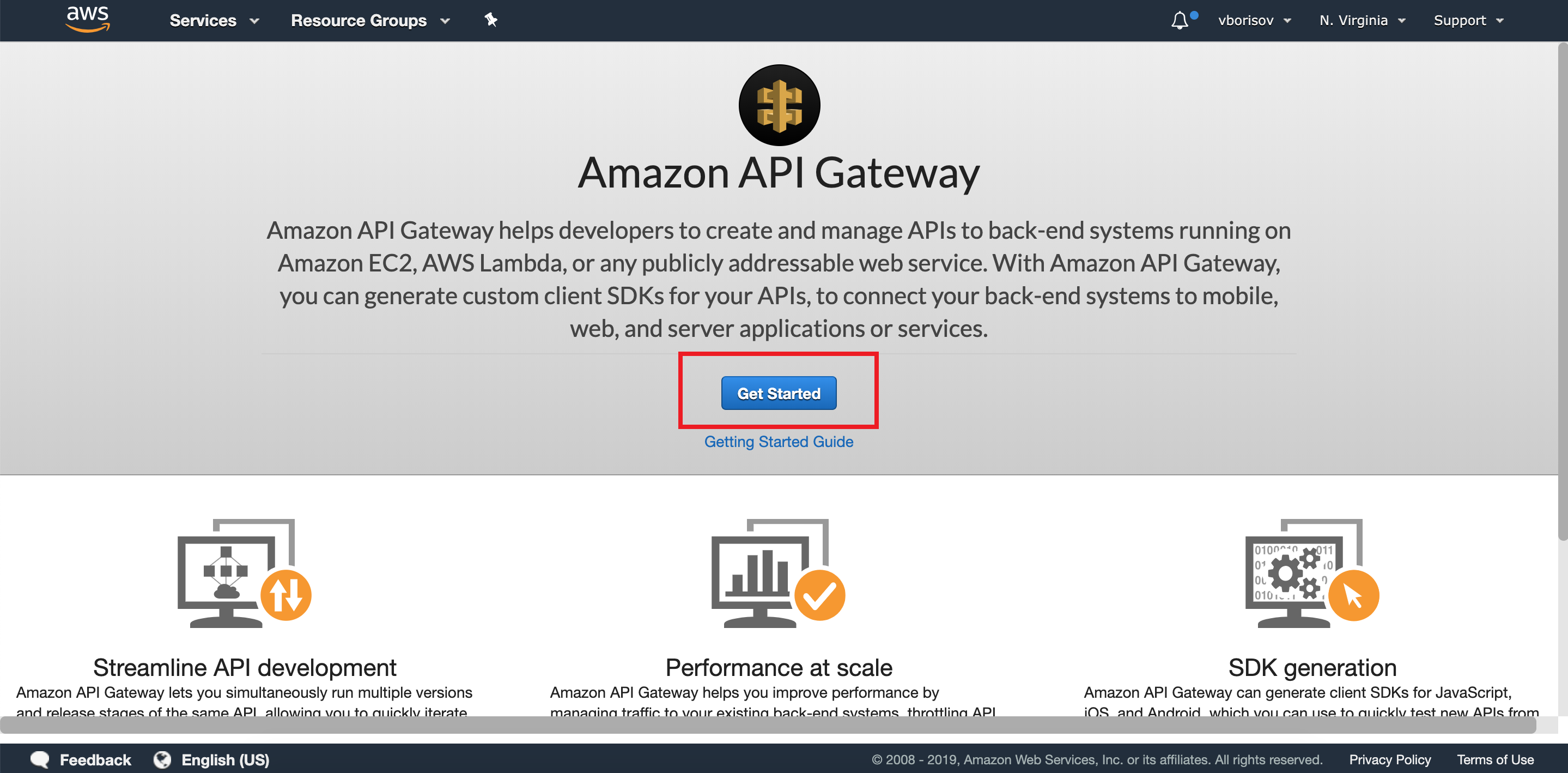 Serverless CRUD API using AWS Lambda, DynamoDB, API Gateway and Node